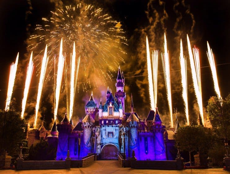 Disneyland's Diamond Celebration: Disneyland Dazzles After Dark 6