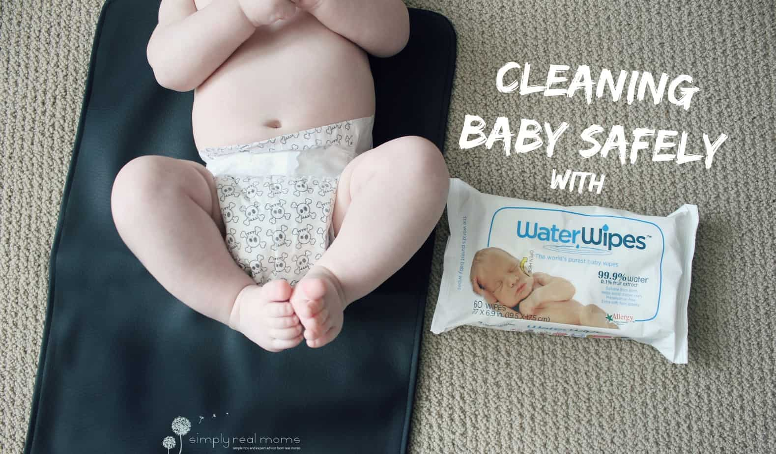 Cleaning Baby Safely With Water Wipes 4