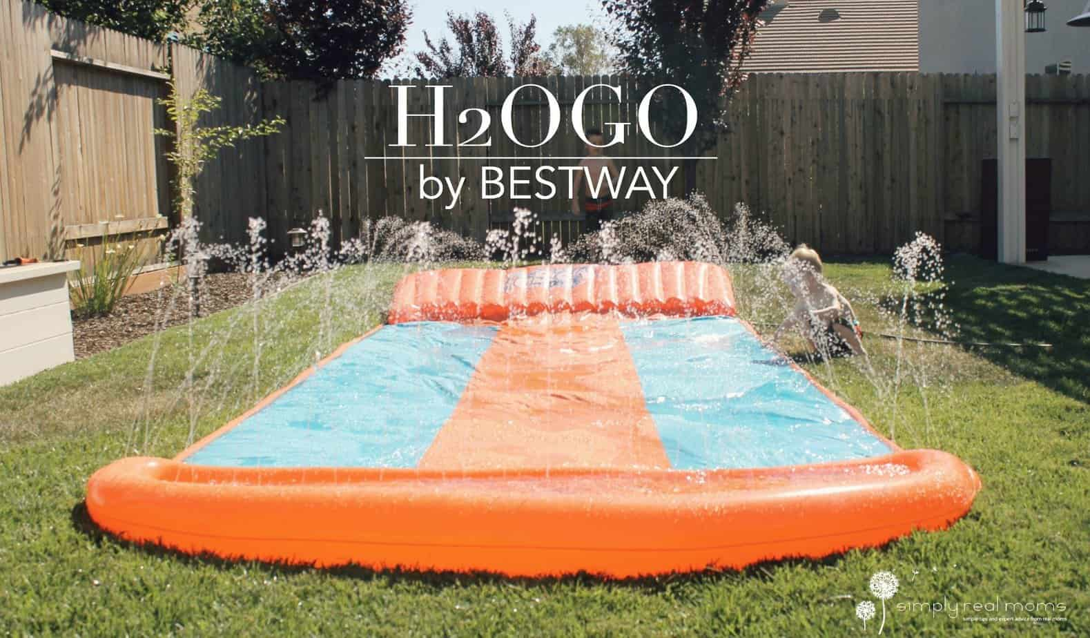 H2OGO Triple Waterslide 5