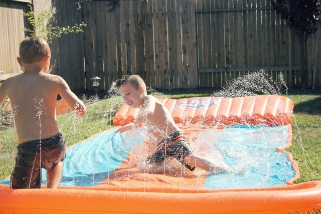 Slip and Slide Fun