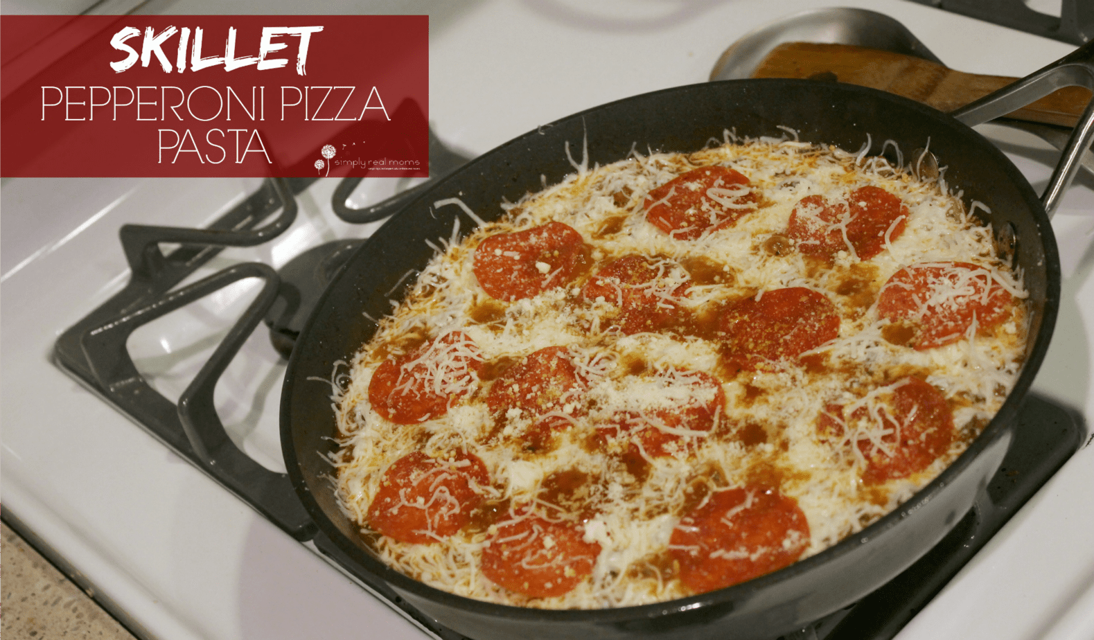 Skillet Pepperoni Pizza Pasta 7