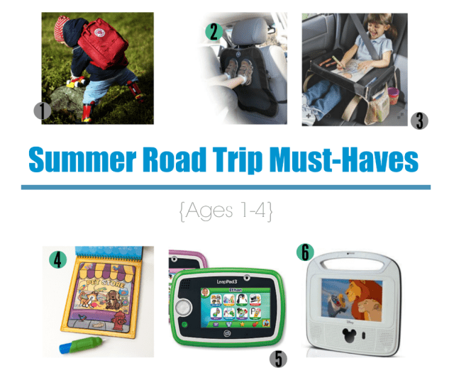 Summer Road Trip Younger Kids