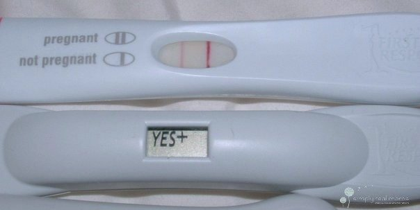 first response pregnancy test faint second line