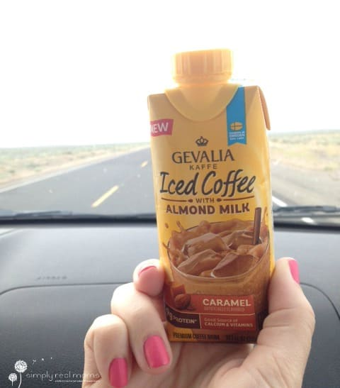 Gevalia Iced Coffee with Almond Milk is the perfect on-the-go coffee!