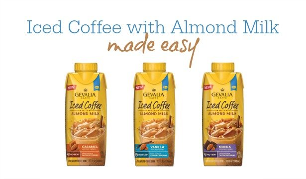 Iced Coffee With Almond Milk Made Easy 1