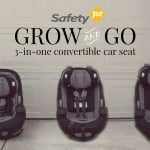 Travel Safety Tips With Safety 1st's New Grow And Go Car Seat