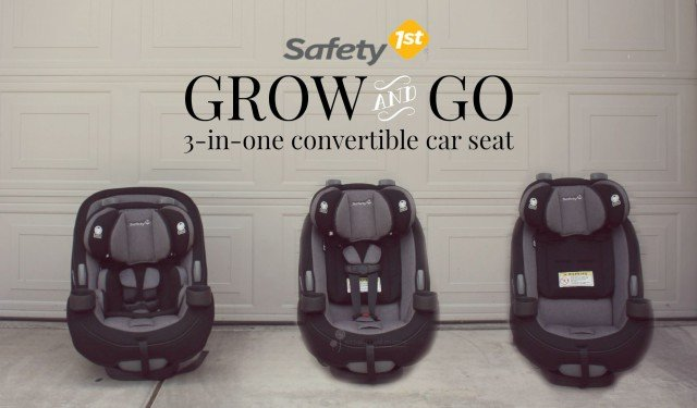 Safety 1st Grow and Go 3 in one Car Seat