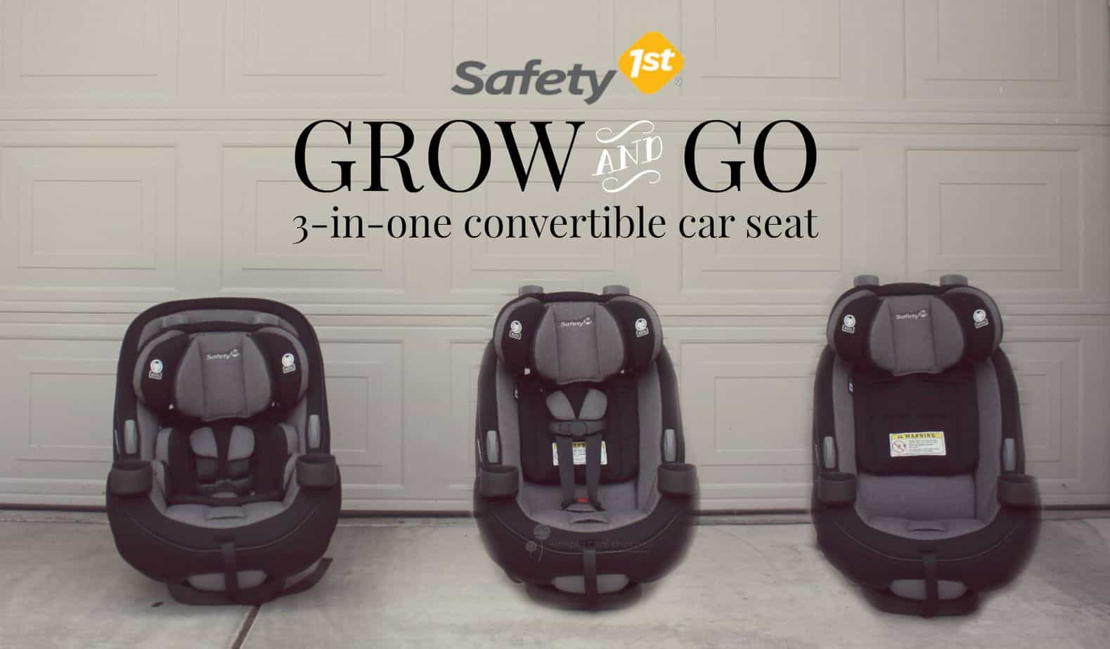 travel safety tips with safety 1st 39 s new grow and go car seat simply real moms. Black Bedroom Furniture Sets. Home Design Ideas