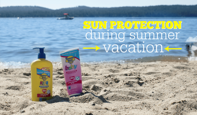 Sun Protection on Family Vacation