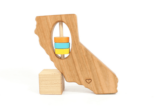 Bannor Toys State Shaped Teethers