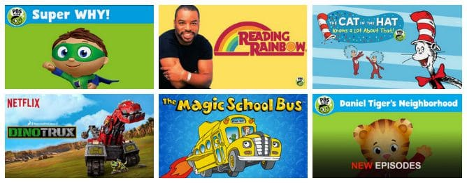 School Day Approved Educational Shows #StreamTeam 2