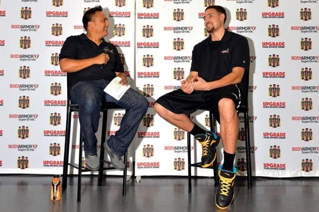 Klay Thompson Q&A