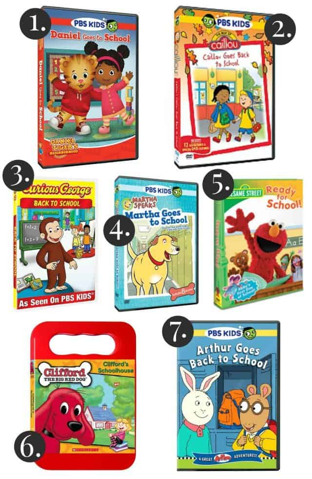 PBSKids Back To School DVDs