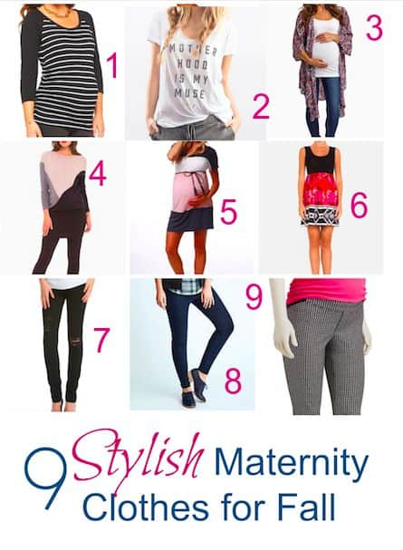 9 Stylish Maternity Clothes You Need This Fall 4