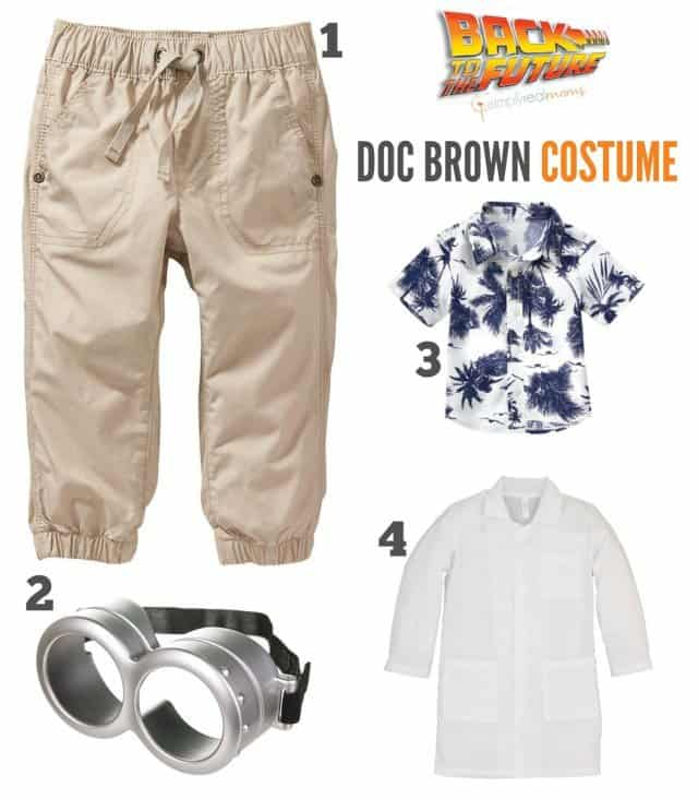 Back to the Fututre Doc Brown Costume