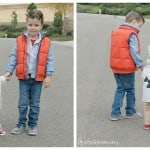 DIY Sibling Halloween Costume: Back To The Future