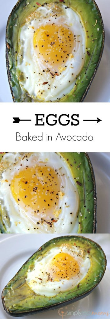 Eggs Avocado