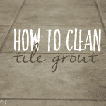 Clean Your Grout, Naturally!