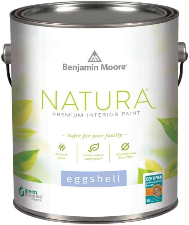 Creating a healthier home with natura paint by benjamin for Benjamin moore paint program