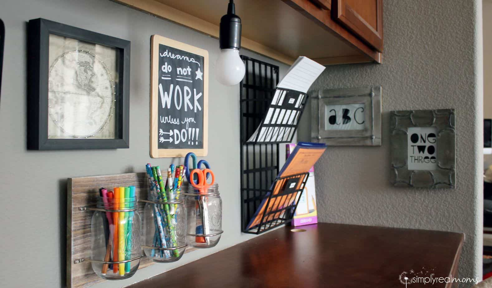 Creating An Inspiring Organized Homework Space 4