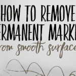 how to get rid of permanent marker on wall