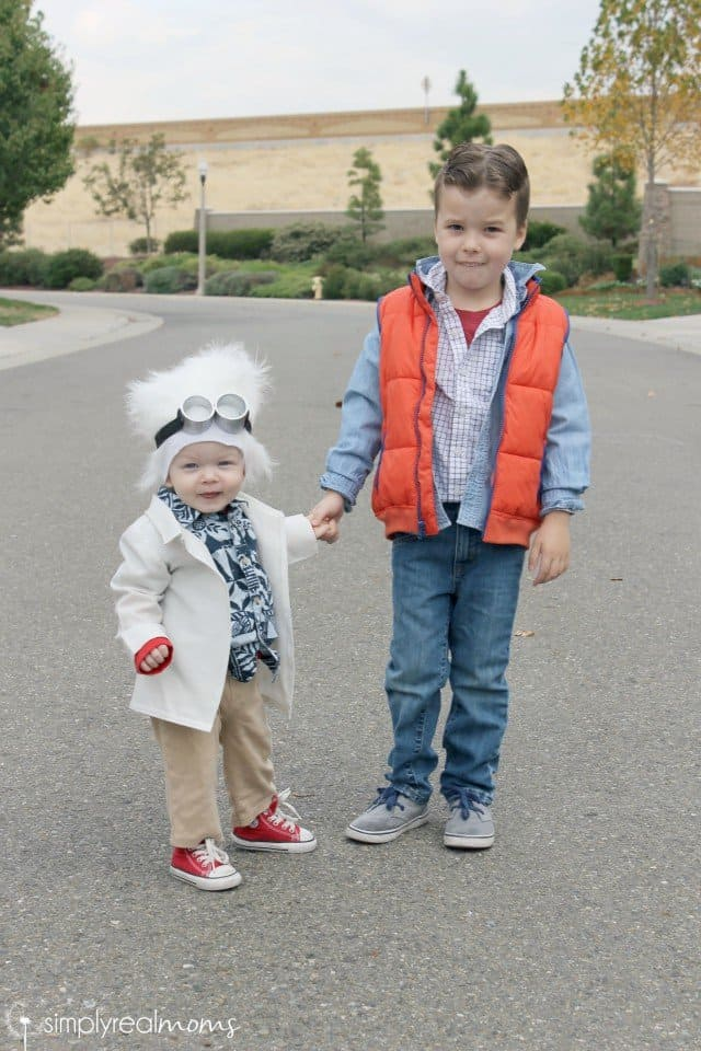 DIY Sibling Halloween Costume: Back To The Future 5