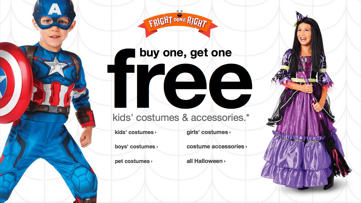 SUPER DEAL! Buy One Get One Free Costumes 1