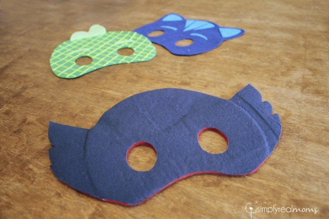 3848b1603 No Sew DIY PJ Masks Costumes