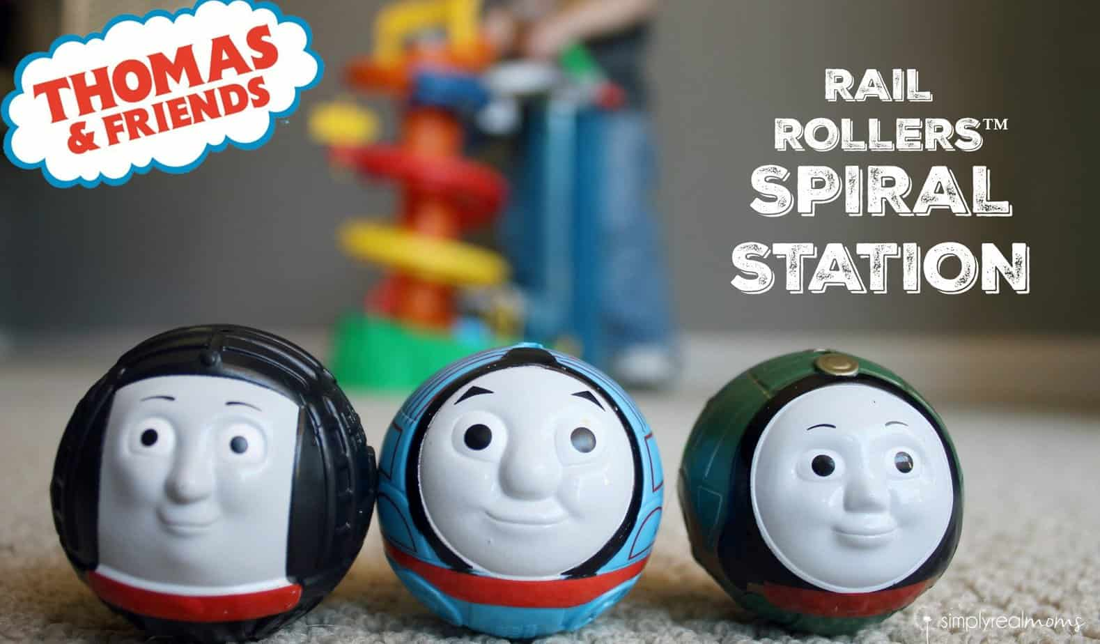 My First Thomas And Friends Rail Rollers Spiral Station 1