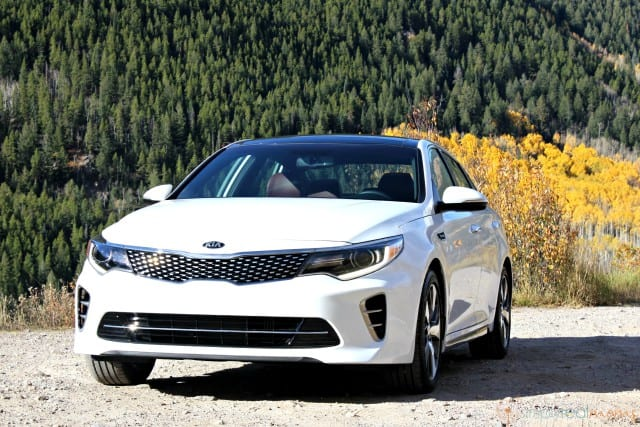 2016 Kia Optima Turbo