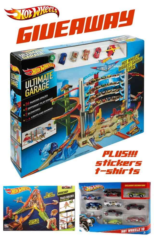 Hot Wheels Ultimate Giveaway