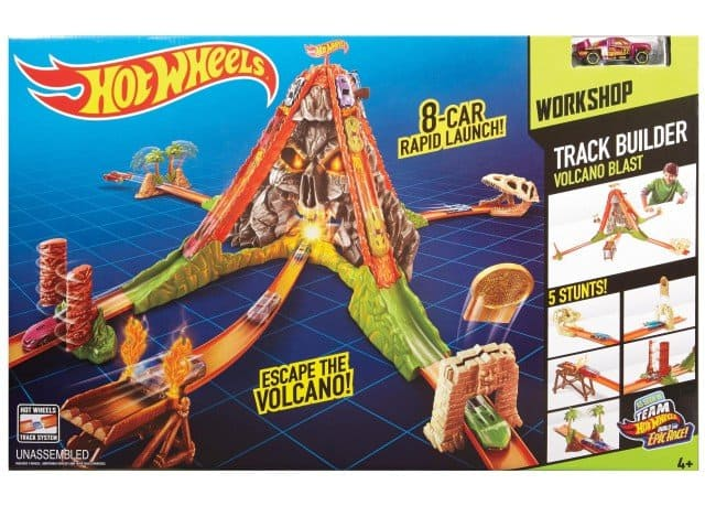 Hot Wheels Volcano Blast