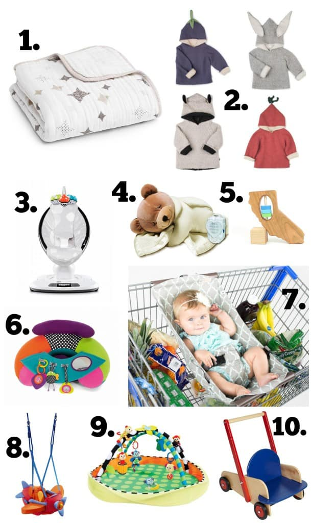 Infant Holiday Gift Guide