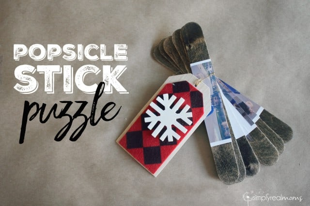 Popsicle Stick Puzzle DIY