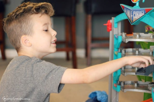 Pretend Play with the Ultimate Garage