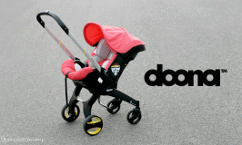 Red Doona Infant Car Seat