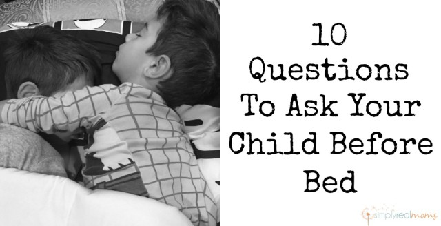 Bedtime Questions for Kids