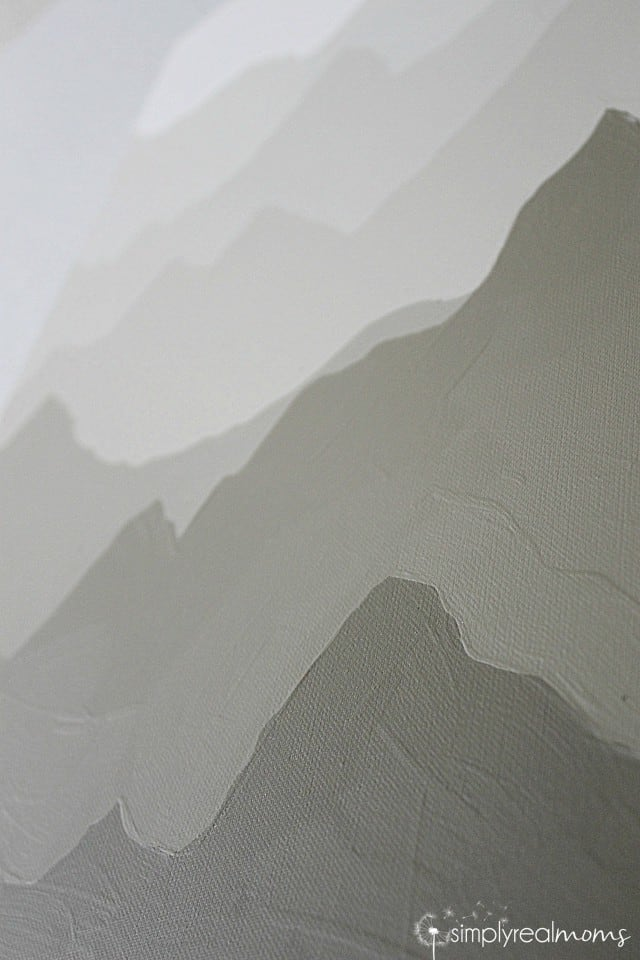Painted Mountains Closeup