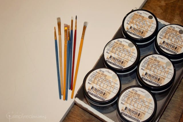 Paints for DIY Mountains Painting