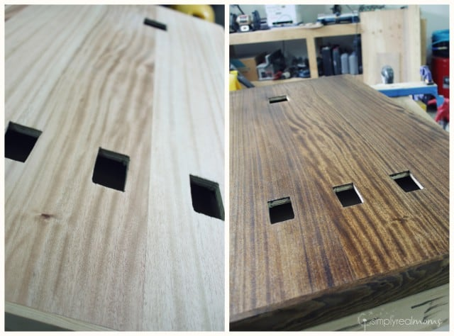 Staining Busy Board