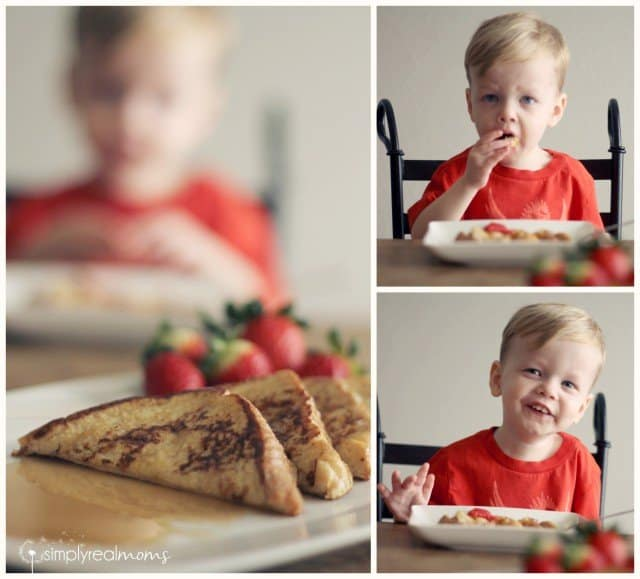Toddler Approved Irish Cream French Toast