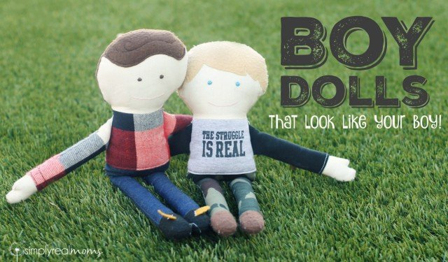 Custom Personalized Boy Dolls