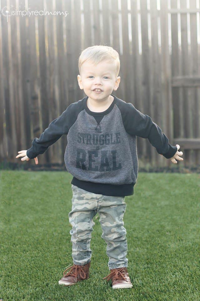 Custom boy doll graphic tee