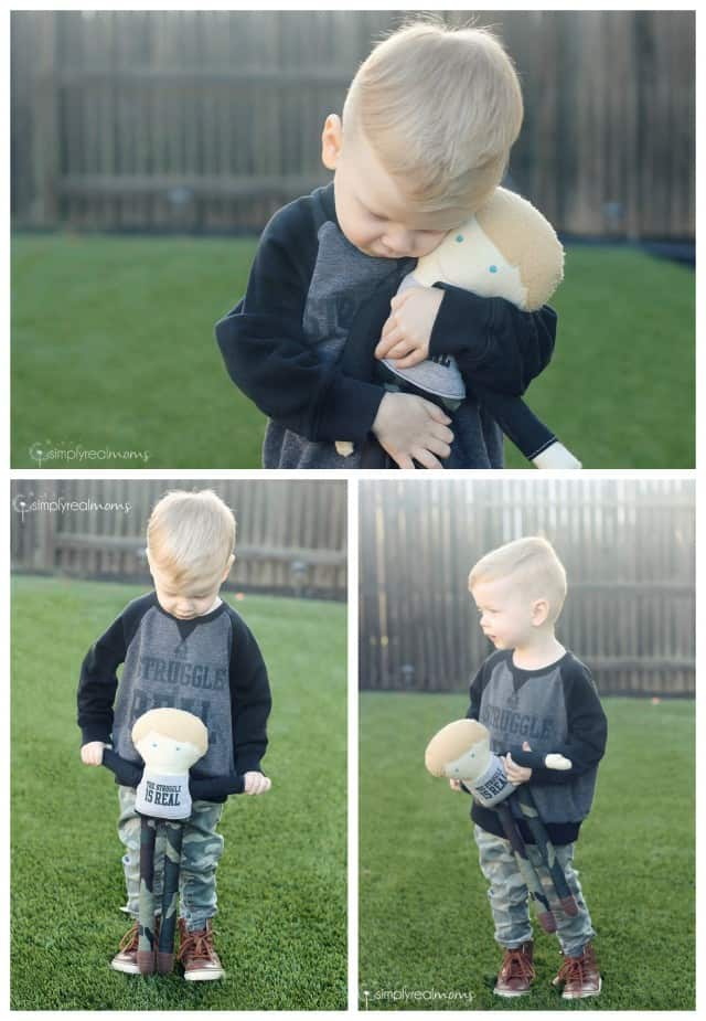 DIY Custom Boy Doll