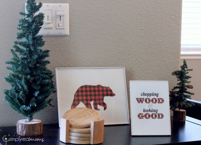 Lumberjack Party Decor