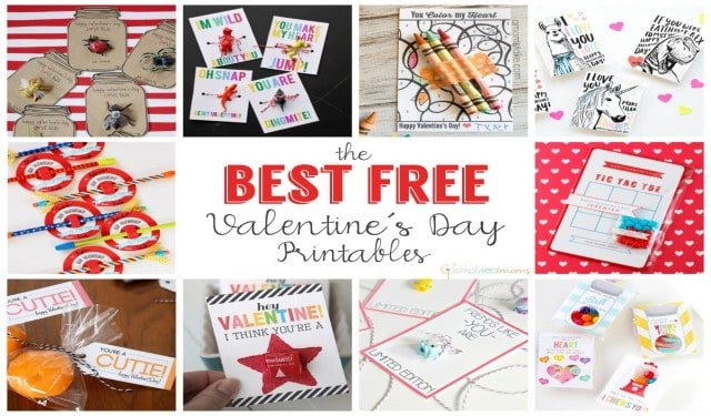 The Best Free Valentines Printables