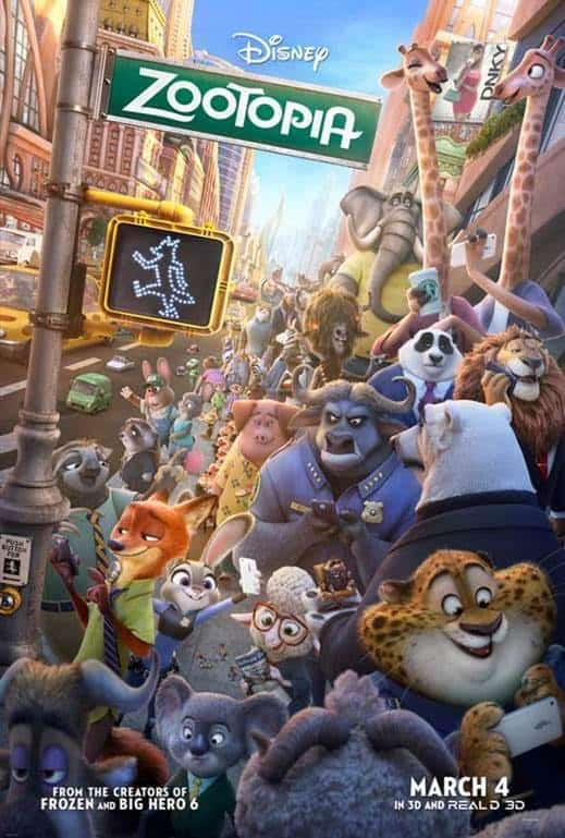 ZOOTOPIA Releases 3 New Clips