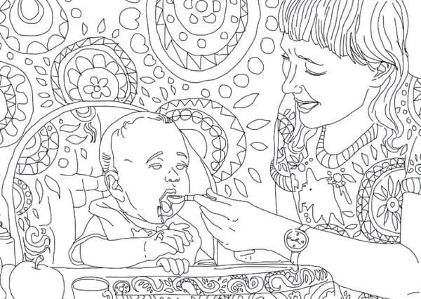 Friday Finds: The Best Adult Coloring Book For Moms - Simply Real Moms