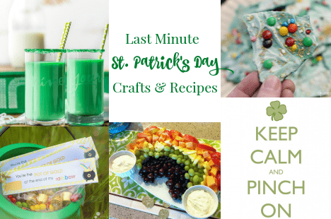 Last Minute St. Patrick's Day Crafts and Recipes 7