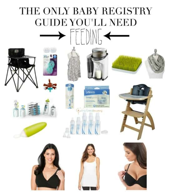 The Only Baby Registry Guide You'll Need Feeding